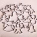 Koekjes uitsteekset -  Santa's big cookie christmas