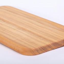 Snij- en serveerplankje essenhout