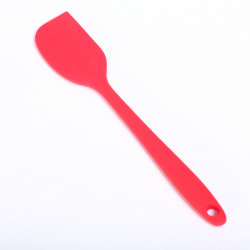 Silicone spatula 'small and handy' - Red