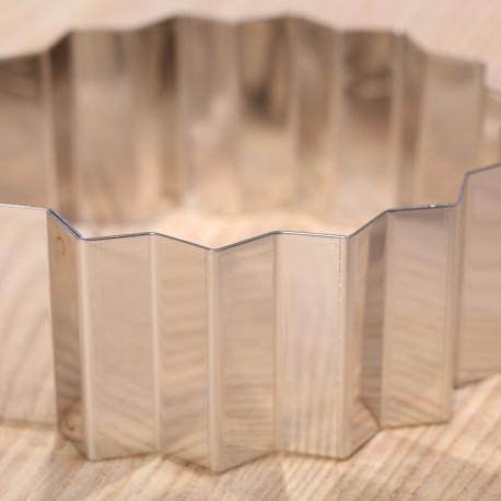 Cake & dessert ring  - serrated triangular