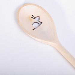 Pollepel met Slakje - ovaal