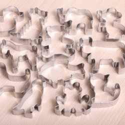 Cookie cutter set- Animal cookie fest