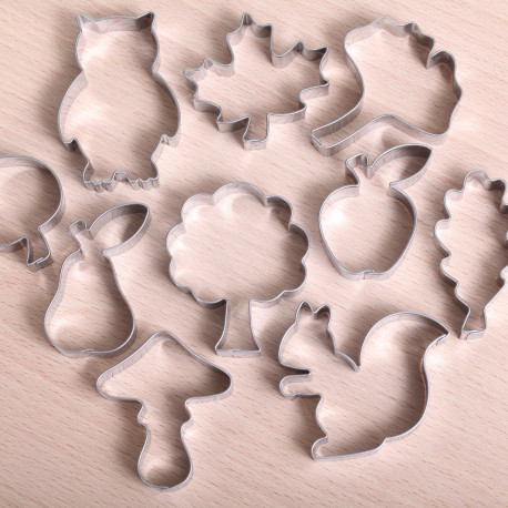 Cookie cutter set- Fall Cookie Fest