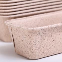 Loaf mold Raffinato naturel beige M 15.7cm