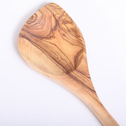 Wooden Spoon olive wood with pointy tip