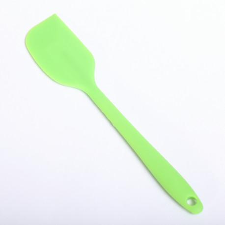 Siliconen spatel klein en handig - Groen