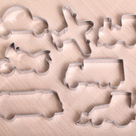 Cookie cutter set - Transport