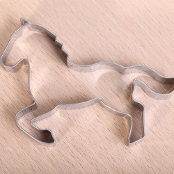Cookie cutter - Horse running