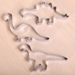Koekjes uitsteekset -  Dino - set van drie