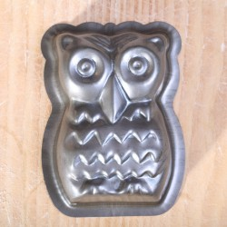 Baking mold Owl