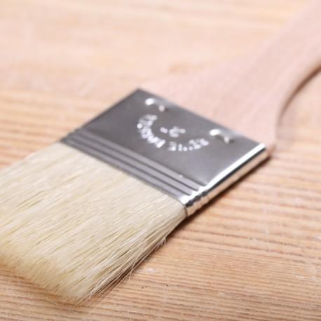 Bakkwastje met houten handvat large - 5cm