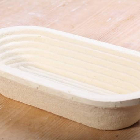 Rijsmand van houtvezel - 1kg Ovaal Spiraal