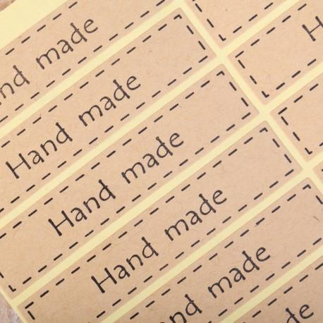 Stickers Hand Made langwerpig