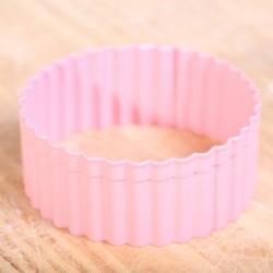 Koekjes uitsteekvormpje -  Pink Round