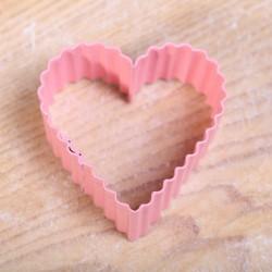 Koekjes uitsteekvormpje -  Pink Heart