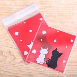 Love Cats Cookie Bags