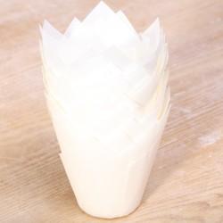 Tulip muffin cups Snow White