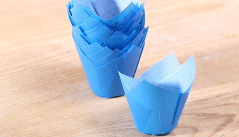 Papieren bakvormen
