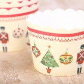 It's beginning to look a lot like Christmas..also in our shop with things like these 'Nutcracker' baking cups