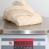 Our new bakery scale