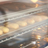 Our convection oven knows what to do with choux pastry , profiterole and eclairs