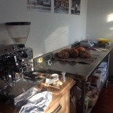 Moved to bigger and lighter baking space