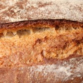 At the moment busy with French country bread