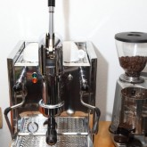 Our other love: The Coffee and the beans resulted in a new espresso machine. It\'s the...