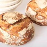 Developing recipe for our version of a sourdough pain naturel