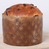 Panetonne molds can also be used for raisin bread