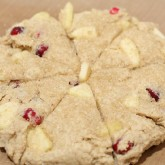 Christmas Scones with Cranberries