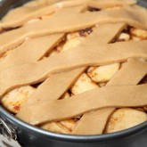 Making Dutch Apple Pie
