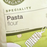 Italian Pasta Flour made of organic  wheat flour and durum flour