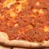 Favorite flatbreads - The Turkish lahmacun Weekend Bakery style
