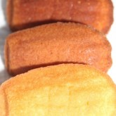 Madeleines - different oven temps and times, searching for that sweet spot where colour and texture are just right.