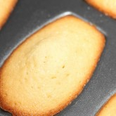 Madeleines - the non stick tins work best