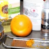 Maple Syrup, Oil, Orange Zest, Vanilla, Salt