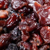 Add the dried fruit