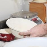 Prepare banneton / proofing basket