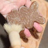 Making Speculaas with molds