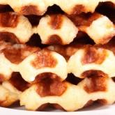 Belgian Waffles - 'Luikse wafels' - Liege waffles or 'gaufre de Liège'