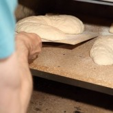 Twisted dough Into the oven...