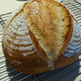 "Justin Gyi  - First attempt at your ""Pain Rustique"" - perfect!"