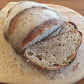 David W - 30% whole wheat levain loaf