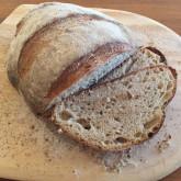 David W - 30% whole wheat levain loaf