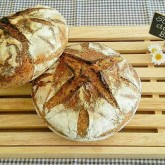 Myriam - Another pair of delicious homemade sourdough loaves