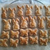 Jos - haas en vlinder koekjes met jullie uitstekers