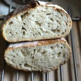 Stefano Ferro - Sourdough bread, 68% hydration, white bread flour (Manitoba) and rye starter.