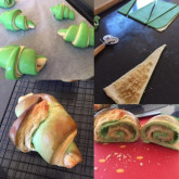Tammy - Classic french croissants and bicolored version