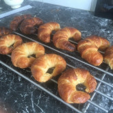 Annelies -  First time baking croissants